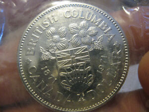 ensemble monnaie canada 1971 pliofilm proof like