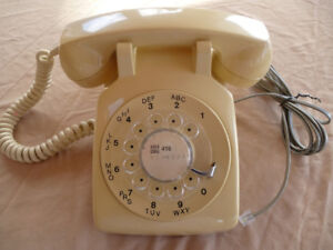 Vintage Northern Telecom Rotary Dial Telephone - Reduced!