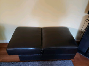 Faux leather bench/chair