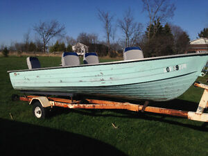 14 ft  ALUMINUM UTILTY BOAT Kingston Kingston Area image 9