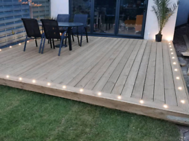 Decking, supply and fit. All with guarantee!