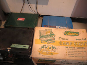 Coleman Stoves - Many Sizes - $25 Each