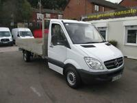 2013 63 MERCEDES-BENZ SPRINTER 313 CDI LWB ALLOY DROPSIDE PICKUP TURBO DIESEL S