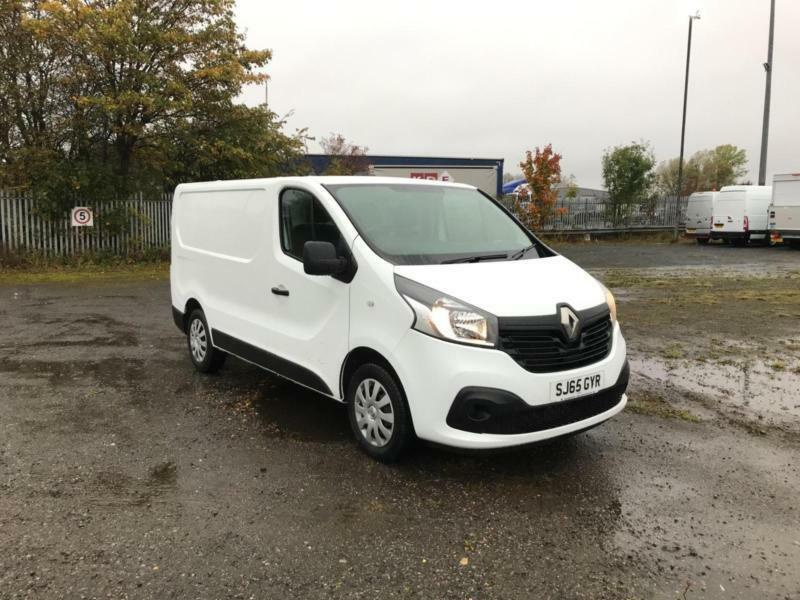 d79f3839fc58e2 Renault Trafic Sl27 Energy Dci 120 Business+ Van DIESEL MANUAL WHITE (2015)