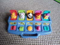 PLAYSKOOL PLAY FAVORITES Busy Poppin' Pals - like new