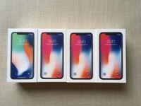 apple iPhone x 64gb unlocked brand new apple warranty