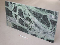 SLAB of GREEN MARBLE nearly 30 inches long. No defects.