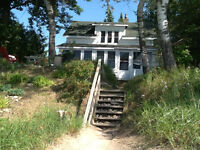 Beautiful Rustic Cottage at Bruce Beach for Summer Vacation