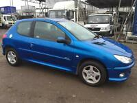 PEUGEOT 206 2006 1.4 MY VERVE - MANUAL - PETROL - LOW MILEAGE