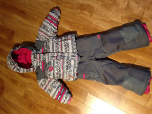 2T snowsuit for girl