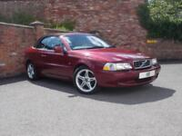 2002 Volvo C70 Convertible 2.0T 163 GT Auto5 Petrol red Automatic