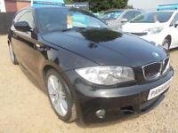 2010 59 BMW 1 SERIES 2.0 116D M SPORT 3D 114 BHP 2010 DIESEL FINANCE WITH NO DEP