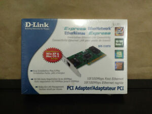 Adapter/Adaptateur DFE-538TX PCI D-Link Express EtherNetwork