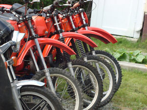for Sale Honda 70.S  CR's 250's Elsinores