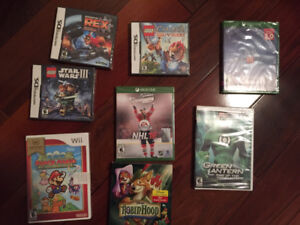 Assortment of Video Games-Sealed