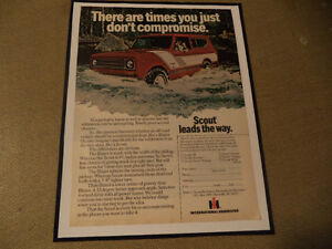 OLD INTERNATIONAL HARVESTER CLASSIC CAR ADS & JEEP Windsor Region Ontario image 3
