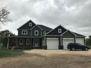 Beautiful country acreage - new home for sale