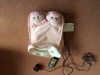 Pig feet massage