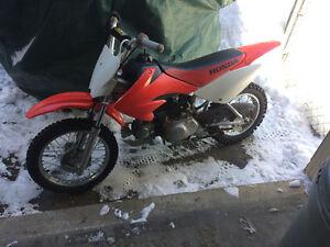 2006 crf 70 mint