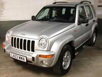 March 2003 03 JEEP CHEROKEE 2.8 TD 148 BHP 4X4 AUTO LIMITED 4WD Htd.Elec.LEATHER