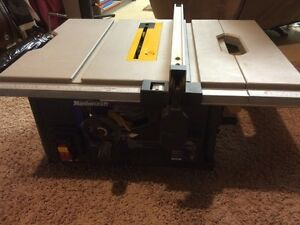 PRICE REDUCTION - Mastercraft portable table saw
