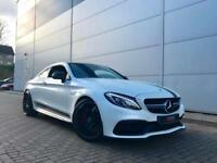 2016 66 reg Mercedes-Benz C63s EDITION 1 AMG 4.0 Coupe + BRABUS D40-600 POWER UP