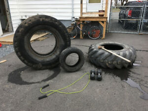 Large Crossfit Tire