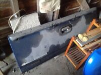 Chevy tailgate and exhaust