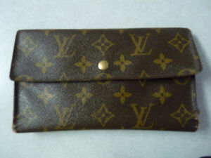 Louis Vuitton wallet (the real deal)