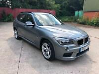 2011 BMW X1 2.0TD XDRIVE M SPORT AUTOMATIC-69,000 MILES-2 KEYS-FULL LEATHER-