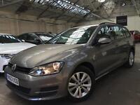 2013 Volkswagen Golf 1.6 TDI SE Estate 5dr Diesel Manual (102 g/km, 104