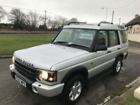 03 LAND ROVER DISCOVERY TD5 GS AUTO 7 SEATS FSH 105000 MILES