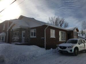 Maison à revenu Triplex Lorrainville Témiscamingue
