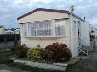 ***** TRECCO BAY, PORTHCAWL ,6 BERTH CARAVAN TO LET!! ********