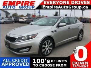 2011 KIA OPTIMA EX * 1OWNER * LEATHER * SUNROOF * NAV * REAR CAM