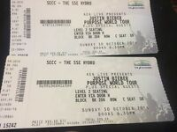 Justin bieber 30th October 2016 SSE hydro