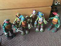 6 Large Ninja Turtles