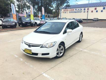 2008 Honda Civic 4 Cylinder Automatic low Km long Rego