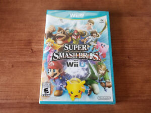 Wii U Games - Smash Bros, Hyrule Warriors, Captain Toad - New