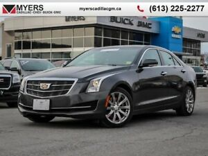 2018 Cadillac ATS Sedan Luxury AWD  Luxury AWD 2.0 TURBO, AWD, S