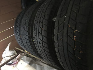 Ford F150 studded snow tires