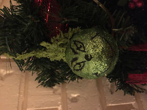 personalized grinch Xmas ornaments
