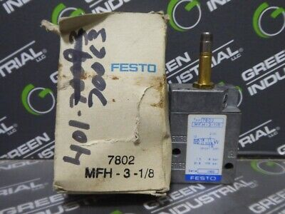 New Festo Mfh-3-18 7802 Solenoid Valve