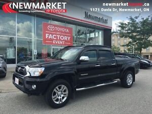 2015 Toyota Tacoma 4WD DBL CAB V6 AU  - one owner - trade-in - C