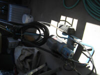 *** Electric powered pressure washer