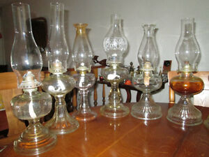 COAL OIL LAMPS FOR SALE