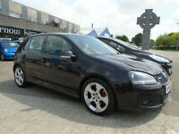 2006 (56) VOLKSWAGEN GOLF 2.0T GTi Black 5 Doors Alloys FSH