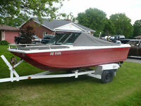For Sale: 1973 Grew 155 Bowrider, 65HP Merc O/B