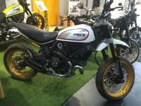 DUCATI SCRAMBLER NEW 2017 DESERT SLED NOW AVAILABLE TO PRE ORDER