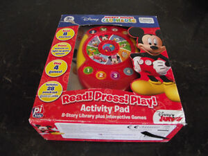 Brand New Mickey Mouse Read Press Play Activity Pad & Books